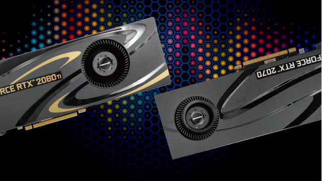Manli GeForce RTX™ 2080 Ti & 2070 with Blower Fan